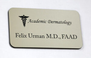 Engraved Name Tag